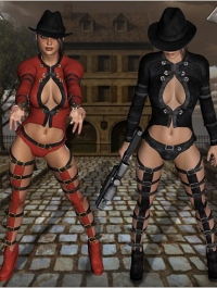Coquine Clothing & Boots V4, A4 & G4