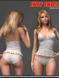 Hot Dream - Top and Panties for V4