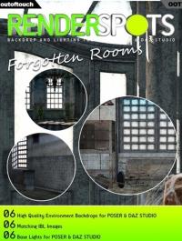 RenderSpots Forgotten Rooms for Poser and DAZ Studio
