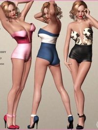 5TEASE PinUp Outfit for V4 A4 G4