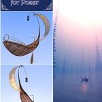 Half Moon Boat