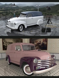 1951 Chevy Panel Van