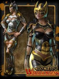Exnem's Warrioress for V4/A4/G4/Elite/GND/Morphs++