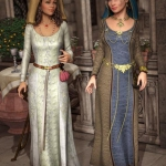 Medieval Fantasy Accessories for Genesis 2 Female(s)