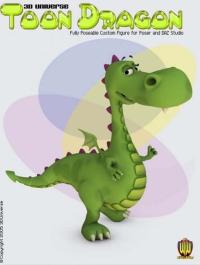 3D Universe - Toon Dragon