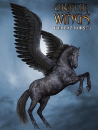 Griffin Wings for DAZ Horse 2