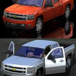 Silverado Truck 2007 (Poser, Vue, 3ds, Lwo & Obj)