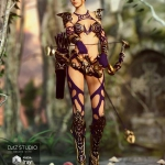 Hunter Queen for Genesis 3 Female(s)
