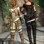 Shameless Rogue Outfit Textures