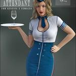 Flight Attendant for Genesis 3 Female(s)