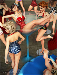 Pinups 'N Props for The Girl 6