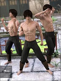 DA Lee 7 Tao Pose Set