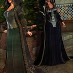 Medieval Princess Gown Textures