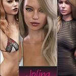 Jolina Character Clothing and Hair Bundle