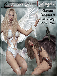 ANGELS Life and Death by ilona