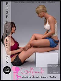 i13 Girlfriends Pose Collection for the Genesis 3 Female(s)
