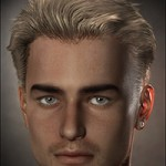 Guillaume Hair for Genesis and M4
