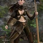 Nomadic Huntress for Genesis 2 Female(s)