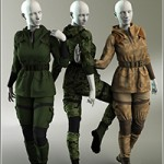 Scout Outfit for Genesis 3 Female by serzart