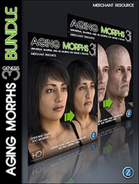 Aging Morphs 3 for Genesis 3 Bundle