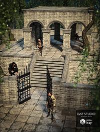 Fantasy Courtyard