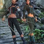 Sword Dancer Textures