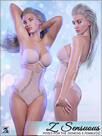 Z Sensuous - Poses for the Genesis 3 Female(s)