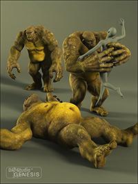 Skullcrusher Ogre Poses