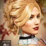 Aliza Hair for Genesis 3 Female(s)