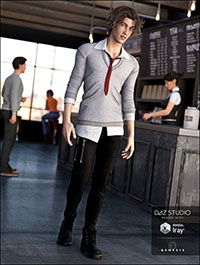 Millennial Business Casual Outfit for Genesis 3 Male(s)