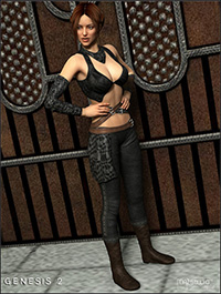 Themis Outfit HD for Genesis 2 Female(s)