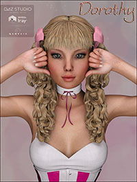 TDT-Dorothy for Genesis 3 Female by Deva3D