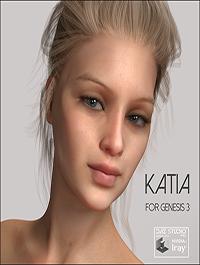 Redz Katia for Genesis 3 Female by RedzStudio