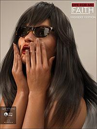 D4M Faith Hair Hi Res for Genesis 3 Female(s)