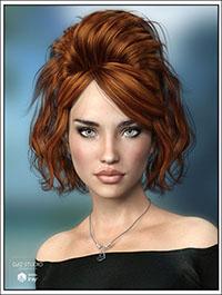 Josina Hair for Genesis 3 Female(s)