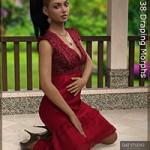 Melanie Dress for Genesis 3 Female(s)