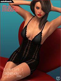 Milena's Lingerie for Genesis 2 Female(s)