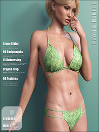 Ozone Bikini for Genesis 3 Females by outoftouch