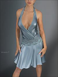 Hongyu's Evening Dress for Genesis 3 Female(s)