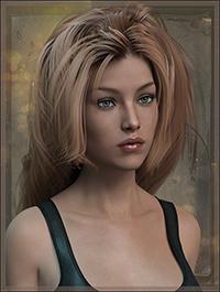 Simple Elegance Hair for Genesis 3 Female(s)