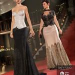 Vogue Evening Gown Textures