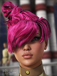Elements Hair for Genesis