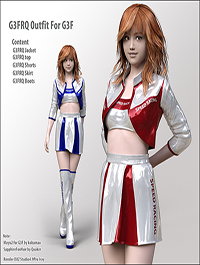G3FRQ Outfit for G3F by kobamax