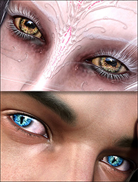 EYEdeas 4 for Genesis 3 Female(s) and Male(s) and Merchant Resource