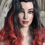 Fane Hair and Character for Genesis 8 Female(s)