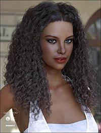 Karissa Hair for Genesis 3 & 8 Female(s)