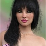 Silvie Hair for Genesis 3 Female(s)