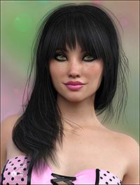 Silvie Hair for Genesis 3 Female(s)