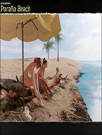 3D Scenery: Paralia Beach by ShaaraMuse3D