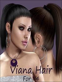 Viana Hair For V4 by nikisatez
